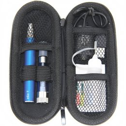 Wholesale Ego Colorful Cases - eGo CE5+ Starter single kit Colorful eGo Zipper case electronic cigarette kit with CE5 plus atomizer eGo-T battery