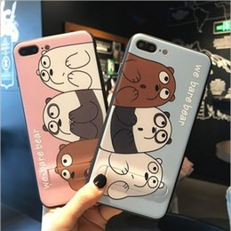 Wholesale Silicone Personalized - For iphone7 8plus cell phone cases iphone6s With a bracket lanyard silicone new personalized mobile phone protective cover free shipping