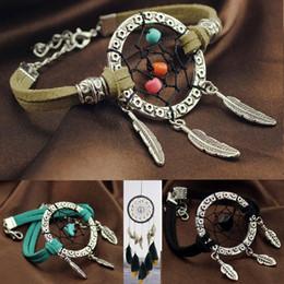 jóias da floresta Desconto 2017 Do Vintage Enchanted Floresta Mini Dreamcatcher Pulseira Handmade Dream Catcher Net Jóias Decoração Ornamento Diâmetro 3 cm