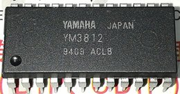 Wholesale Electronic Field - YM3812 . FM OPERATOR TYPE L 2   dual in-line 24 pin plastic package   Electronic Component . PDIP-24 . integrated circuit IC