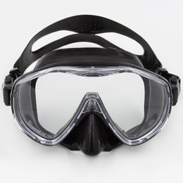 Wholesale Adult Diving Mask - Wholesale-High quality adult silicone scuba diving mask MK100