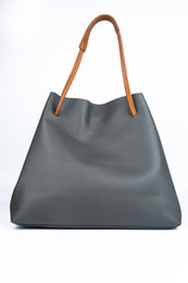 Wholesale Hot Lady Deep - Free Shipping! Hot Sell Newest Classic Fashion Style AAAAA Lady PU leather top handle bag casual tote #