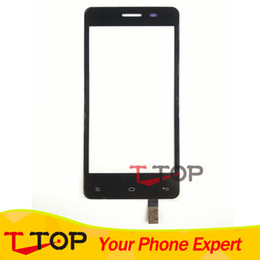Wholesale Iq Iphone - Wholesale- Tested IQ 4403 Touch Screen For Fly IQ4403 Energie 3 Touch Screen Digitizer Front Glass Len 1PC Lot