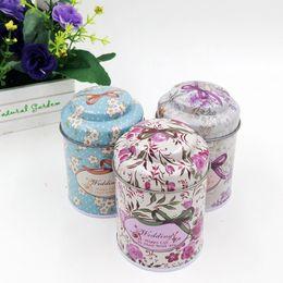 Wholesale Wholesale Tea Favors - 75*55mm Coffee Sugar Tea Tin Box Storage Creative Mushroom candy box Wedding Supplies Favors wholesale wa3250