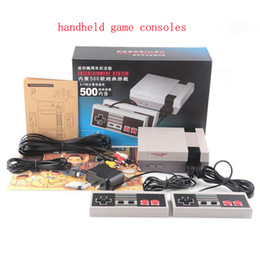 Wholesale New Arrival Mini TV Video Handheld Game Console Video Games Consoles Built in Classic Games For Nes Classic Games PAL NTSC