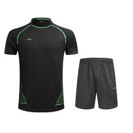 Deutschland Neue Badminton-Shirts, T-Shirts, Männer / Frauen, Badminton, Berufshemden, schnell trocknend, atmungsaktive Sport-T-Shirts, kostenloser Versand Versorgung