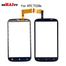Wholesale Desire Sv - Tested Good Working Black Sensor For HTC Desire G8 G10 G11 G12 G13 SV T328E T328W T528T Touch Screen Digitizer Assembly + Tools