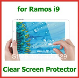 "Wholesale Ramos Tablet Pc - Wholesale- 3pcs Customized Clear Screen Protector Protective Film for 8.9"" Tablet PC Ramos i9 No Retail Package Size 231x145mm"