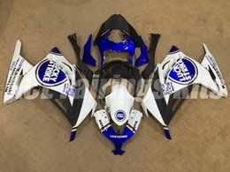 Wholesale Lucky Strike Fairings - New ABS Injection mold Fairing kits 100% fit For Kawasaki Ninja300 13 14 15 16 Ninja 300 EX300 2013 2014 2015 2016 blue white lucky strike