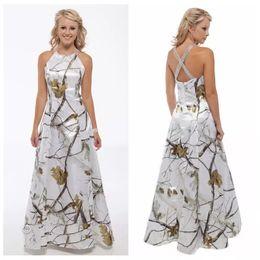 Robe De Mariée Sur Mesure Camo 2019 Pas Cher Train Train Criss Cross Dos Robes De Mariée Perlée Sur Mesure Robes De Mariage ? partir de fabricateur