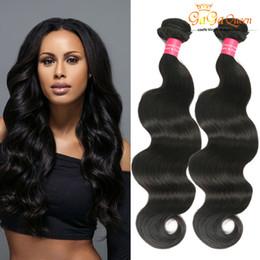 Wholesale Tangle Free Weave - Brazilian Virgin Body Wave 8A Brazilian Human Hair Extensions Queen Hair Products 4Bundle Deals Brazilian Virgin Hair Weave Tangle Free