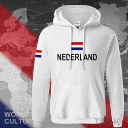Wholesale Holland Clothes - Wholesale- Netherlands Nederland 2017 hoodies men sweatshirt sweat new streetwear clothing jerseys tracksuit nation Holland flag Dutch NL