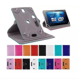 Wholesale Ipad Business Holster - Laptop PU Leather Universal tablet protection protective holster 7 8 9 10 inch general rotary holster