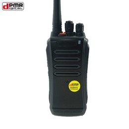 Wholesale Digital Walkie Talkies - Cheapest DPMR Digital Two Way Radio Simple Operation Small DPMR Walkie Talkies for Public Communication RowayRF 2016 New PD-320