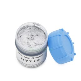 Wholesale led components - Wholesale- 20g Silver Compound thermal conductive Silicone grease paste for CPU VGA LED Chipset and other PC components Chipset Cooling