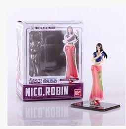Wholesale Robin Action Figures - Wholesale-16cm Anime One Piece ZERO After 2 Yeaes The New World Nico Robin PVC Action Figure Collection Model Toy OP006