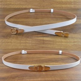 Wholesale Interlocking Belt - Genuine Leather Waistband Dress Belts for Lady High End Folio Cowhide Straps with Interlocks Buckle Factory Price