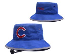 Wholesale Wholesale Table Top - New Caps 2017 Baseball Bucket Hats Team Cubs Cheap Cap Blue Color Mix Match Order All Caps in stock Top Quality Hat