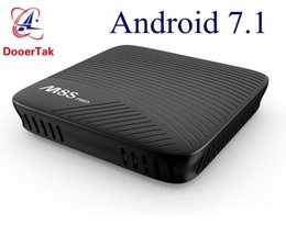Wholesale Dual Core 5g - M8S Pro 2GB 3GB DDR4 16GB EMMC Android 7.1 Smart TV Box Amlogic S912 Octa Core Dual 5G Wifi 4K H.265