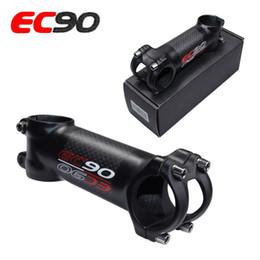 Wholesale Handle Riser - 2017new EC90 aluminum + carbon fiber riser   rod Stem Scale-free carbon fiber Bicycle ultra-light Stem carbon handle 28.6-31.8MM