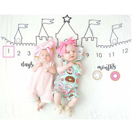 Wholesale Christmas Props For Baby Photography - Christmas Baby Swallow Towel Quilts For Newborn Photography background Props Baby Blanket For Kid Girl Boy