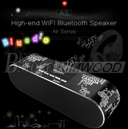 Wholesale High Resolution Wireless - Bluedio AS Bluedio AS-BT Fashionable High-end Wifi Bluetooth Speaker 3D Surround Sound Bluetooth 4.1 24 Bit HD Resolution