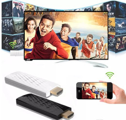 Wholesale Display Mirrors - Wireless HDMI Wifi Allshare Phone Screen To TV Dongle Airplay Mirror Display