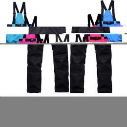 Wholesale Women S Pink Ski Pants - Wholesale- 2016 free shipping ski pants women waterproof windproof snow pants women sport snowboard pants outdoor women's ski trousers