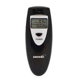 Wholesale Digital Breath Analyzer Alcohol Tester - New Arrival Wholesale Free shipping Portable Breath Alcohol Analyzer, Digital Breathalyzer Tester,LCD Display in Two Units: %BAC & g L