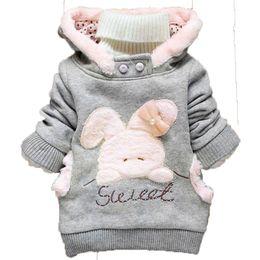 Wholesale Wholesale Childrens Sweatshirts - Wholesale- Spring Autumn Kids Hoodies Coats Boys Sweatshirts Sport Baby Boy Rabbit Hoodies Childrens Girls Outerwear 2016 New
