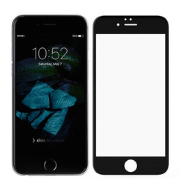 Wholesale Thinnest Touch Screen Phone - 5D touch Screen Protector for iphone 6s 6s Plus 2.5D 0.20mm Ultra-thin Mobile Phone Front Tempered Glass Screen Protector