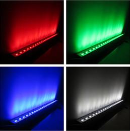 rondella a parete che cambia colore Sconti (6 pezzi / lotto) Colore che cambia rgbw 4in1 wall washer esterno, esterno 24x10w IP65 dmx wall washer