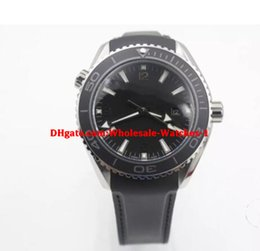 Wholesale Sea Planet - Wholesale Top NEW Black ETA 8500 Movement Case Sea Planet Ocean BEZEL automatic movement glass back transparent STEEL Belt band original cla