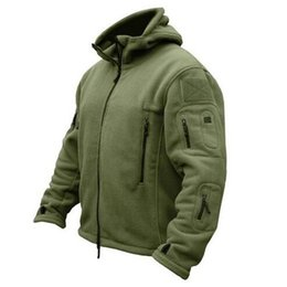 Wholesale Ted Free Shipping - Wholesale- Ted is suing 2016 hit he tactics soft shell wool sweater coat kamuflaj reflective kurtki men Justin bieber jacket free shipping