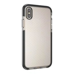 Wholesale Transparent Pouch Cell - New cell phone case for iphone X Soft TPU case transparent Silicon Soft pouch Evo Mesh back cover