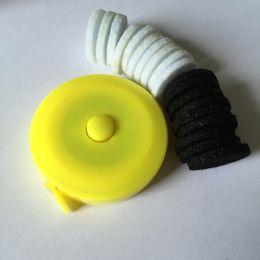 europäische kautschukperlen Rabatt Großhandel besten Preis Diffusor Pads, 22.5mm 23mm Größe innere Abstandshalter für Diffusor Halskette
