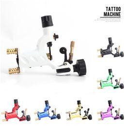 Wholesale Dragonfly Rotary Tattoo Machine Kits - Dragonfly Rotary Tattoo Machine Shader & Liner 7 Colors Assorted Tatoo Motor Gun Kits Supply For Artists