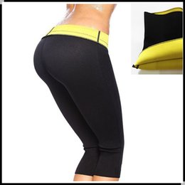 Wholesale Hot Breeches - ( Pant + Belt ) Hot Shaper Body Shapers waist trainer Slimming Panties Pants & Belts Super Stretch Neoprene Breeches For Women