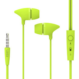 Wholesale Ear Headphones Cartoon - UiiSii C100 headphones Stereo Earbuds Music Headset Cartoon Earphone with Microphone for iPhone  Xiaomi Mobile Phone MP3 PC