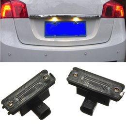 Discount vw led number - 2X OEM LICENSE NUMBER PLATE LIGHT LAMPS FOR VW SMD LED LUCI TARGA PER VOLKSWAGEN GOLF  JETTA POLO PASSAT B6