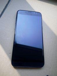Wholesale Digital Mini Radio - Fake fingerprint Goophone S8 curved edge 5.5 inch Android 6.0 SmartPhone Quad Core 1+8g show 4+64gb Rom WIFI GPS Metal frame