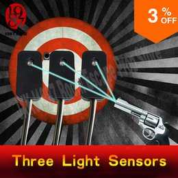 Wholesale Unlock Three - escape room prop three light sensors shoot three light sensorswith three laser pointers at the same time to unlock from jxkj1987