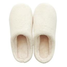 Wholesale Warm Slippers For Women - Winter cotton slippers Female and male indoor slippers Warm lovely soft couple shoes for men women Antiskid