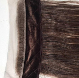 Wholesale real hairstyles - Real Human Hair Headbands Brown Color 4 Best Hair Accessory Freestyle Invisible Iband Lace Grip For Jewish Wigs Kosher Wigs