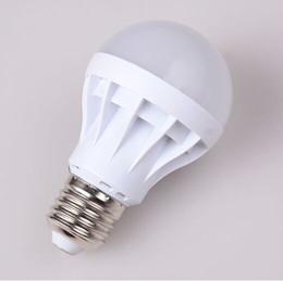 Wholesale Energy Saving E14 Led - LED Bulbs E27 Globe Bulbs Lights 3W 5W 7W 9W SMD2835 LED Light Bulbs Warm Pure White Super Bright Light Bulb Energy-saving Light