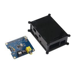 Módulo de sonido online-Tarjeta de sonido digital Freeshipping Raspberry pi 3 HIFI DiGi Expansion Board I2S SPDIF Module + Estuche acrílico para Raspberry Pi 2