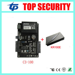Wholesale Card Door Reader - Good Quality Access Control Systems contains C3-100 One-door Two-Way Access Control Panel+1 PCS KR100E RFID Reader