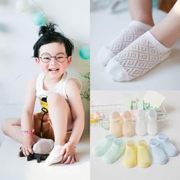 Wholesale Thin Cotton Socks For Kids - Kid Socks New Mesh Thin Breathable Short Sock Cotton For Baby Boys Kids Girl 0-12 Years Wholesale
