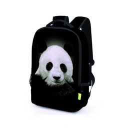 Wholesale Travel Bag Panda - Panda 3D Printing Teenager Hip Hop Backpacks Lovely Print School Bags Girl Boy Unisex Travel Backpack BB051BL