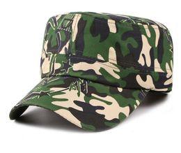 Casquettes de style militaire pour hommes en Ligne-Nouveau Militaire Armée Hommes Camo Camouflage Hommes Femmes Unisexe Chapeaux De Baseball Chasse Baseball Cadet Casual Bataille Casquettes pour hommes